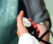 PHOTO CAPTION Regular blood pressure and glucose screenings can significantly reduce your risk of heart disease, and many other common chronic health issues.