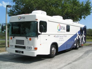 vna health care on wheels mobile clinic